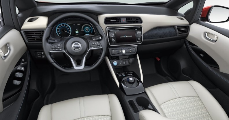 2020 Nissan Leaf Interior