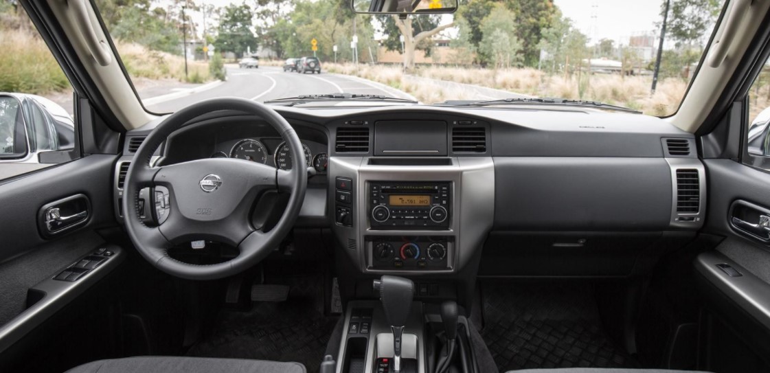 Nissan Patrol 2019 Dashboard