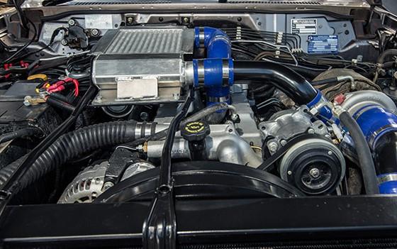 Nissan Patrol 2019 Powertrain