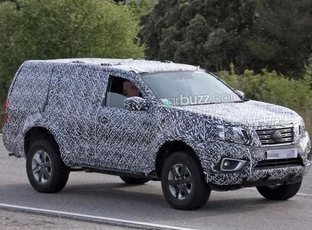 Nissan Patrol 2019 Spy