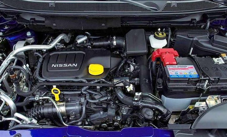 Nissan Qashqai 2019 Powertrain
