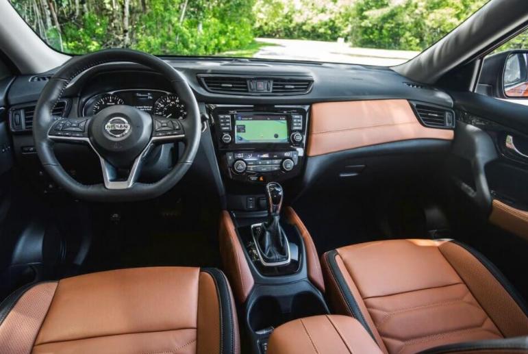Nissan X-Trail 2019 Interior