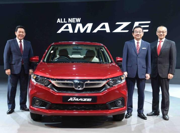2019 Honda Amaze Exterior