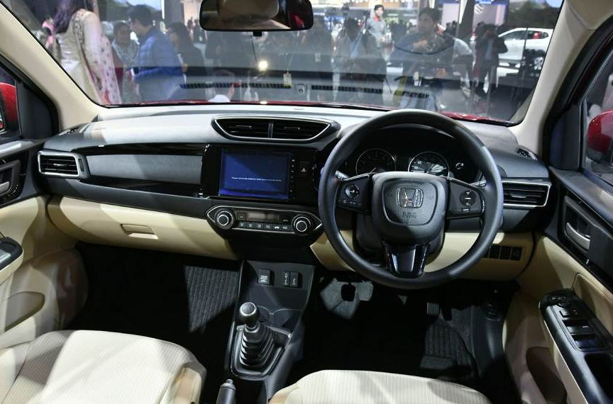 2019 Honda Amaze Interior