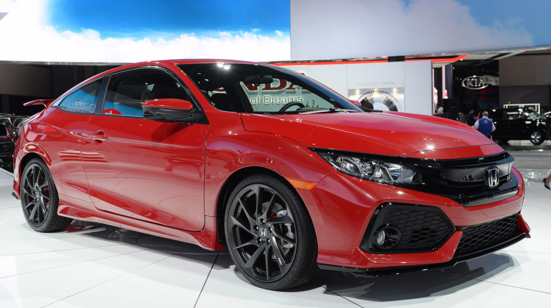 2019 The Honda Civic Coupe Exterior