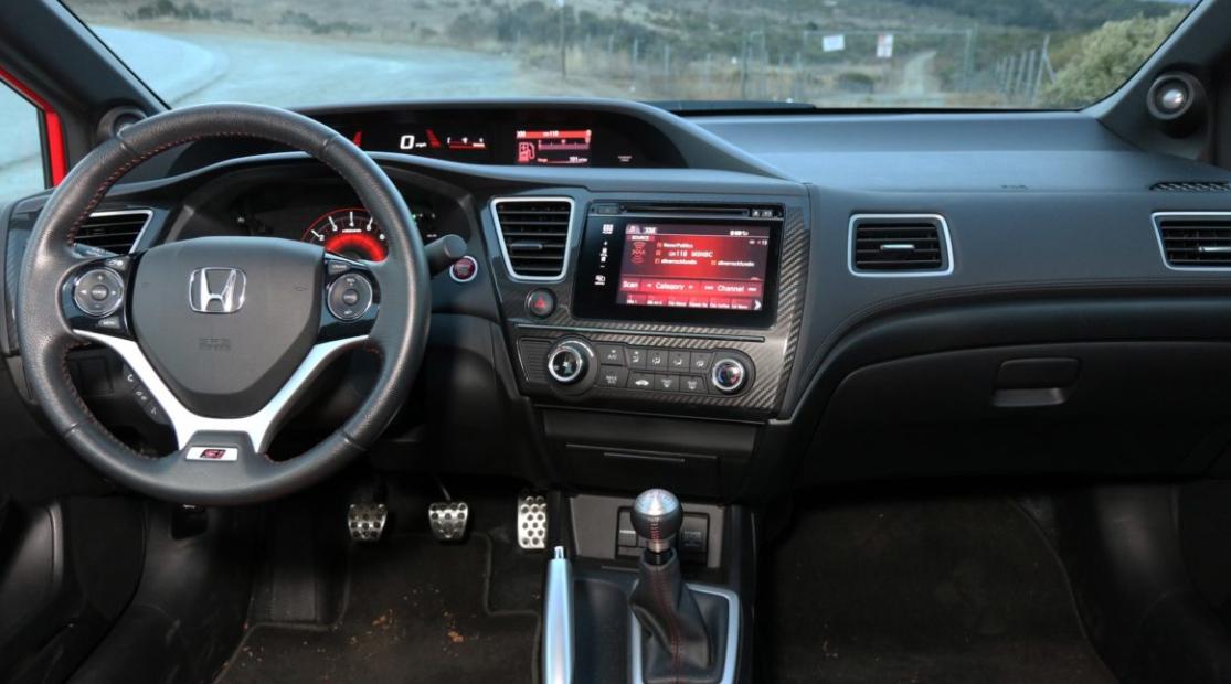2019 The Honda Civic Coupe Interior