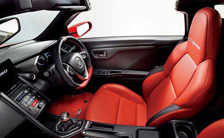 2019 Honda S660 Interior