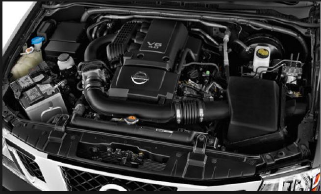 2019 Nissan Frontier engine