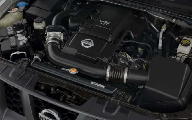 2019 Nissan Terra Engine
