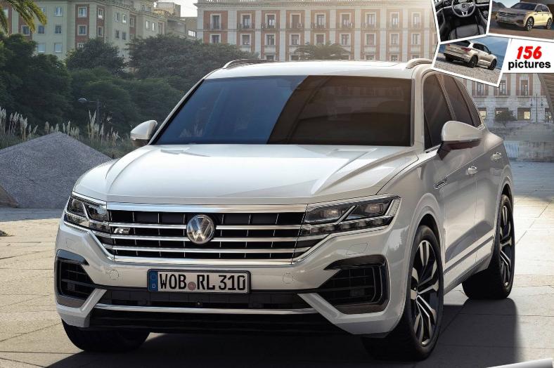 2019 Volkswagen Touareg Exterior