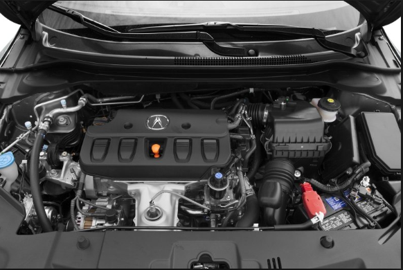2020 Acura ILX. engine