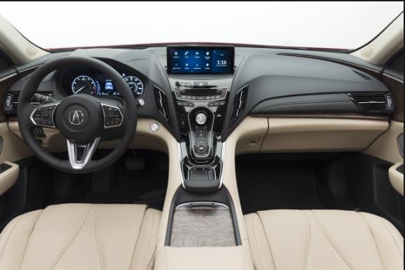 2020 Acura RDX. interior