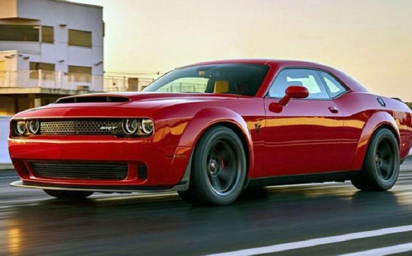 2020 Dodge Demon Exterior