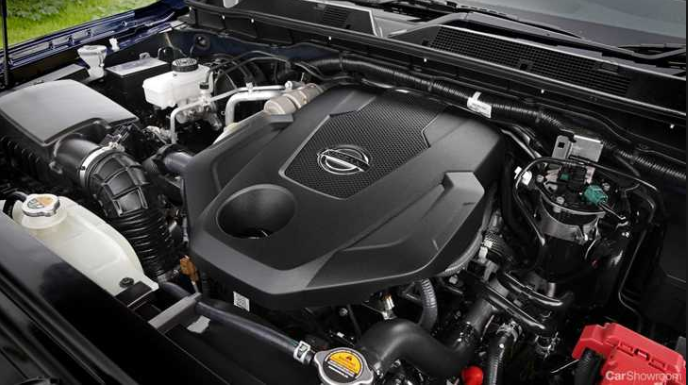 2020 Nissan Navara engine