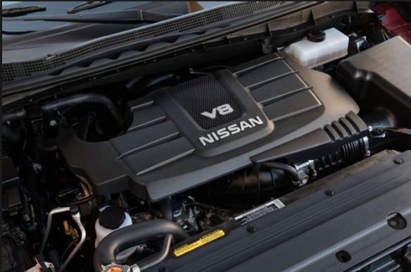 2020 nissan titan engine