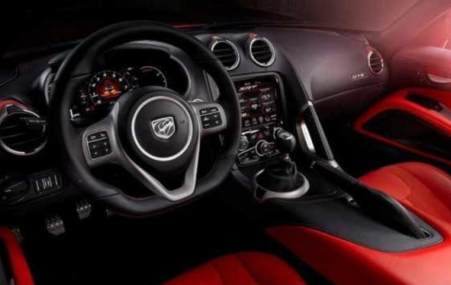 2019 Dodge Dart SRT Interior