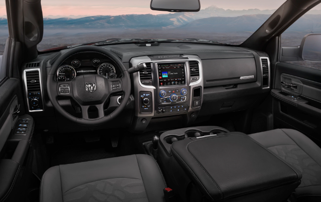 2019 Dodge Power Wagon Interior