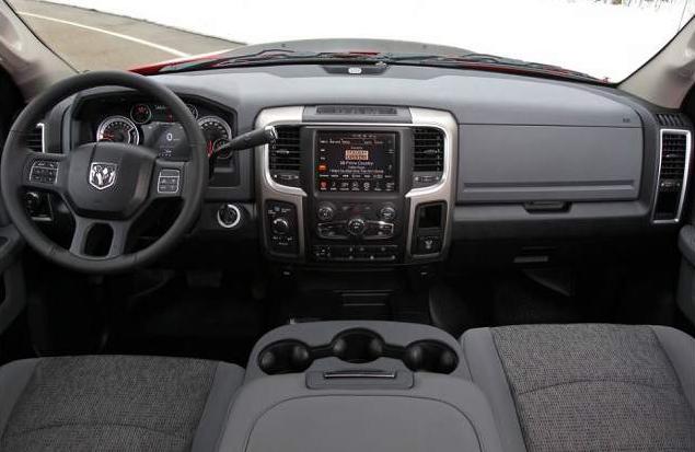 2019 Dodge Ram 2500 Diesel Interior