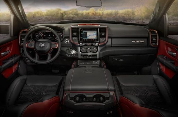 2019 Dodge Ram Rebel Interior