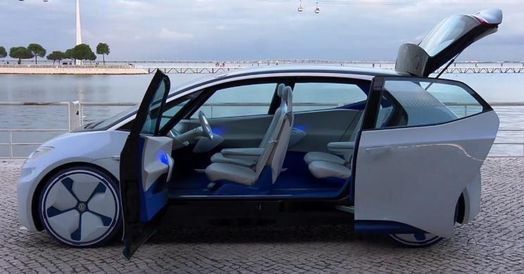 2019 Volkswagen ID Interior