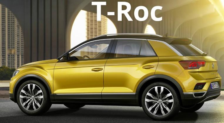 2019 Volkswagen T-Roc Exterior