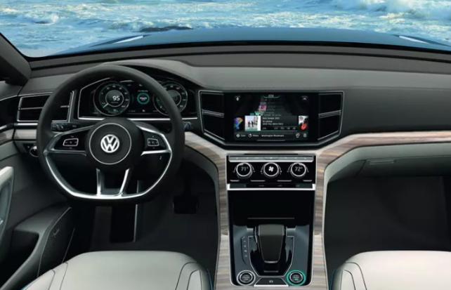 2019 Volkswagen Teramont Interior