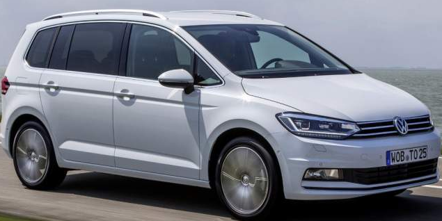 2019 Volkswagen Touran Exterior