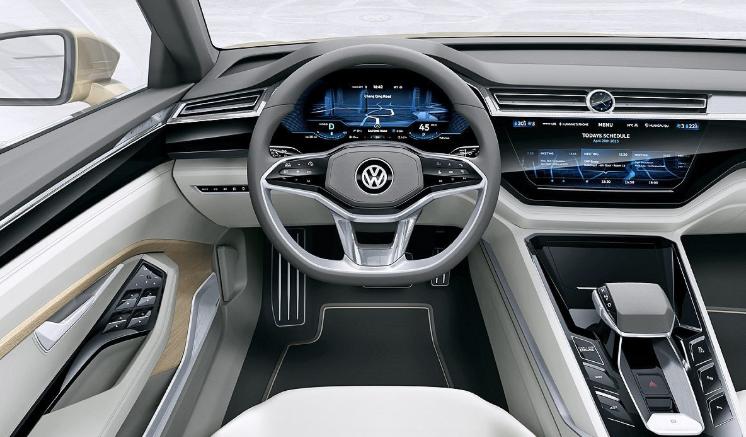 2019 Volkswagen Touran Interior