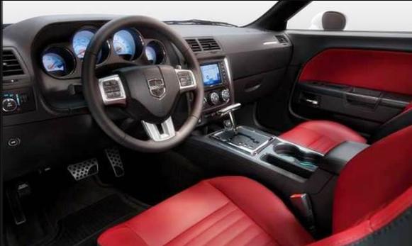 2020 Dodge Barracuda Interior