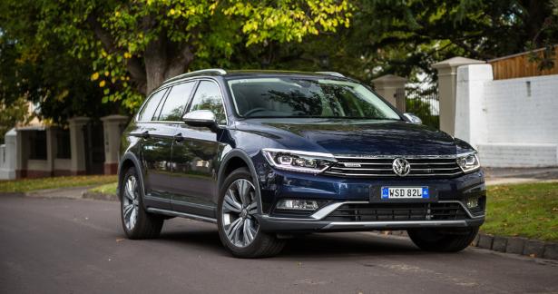 2020 VW Passat Alltrack Exterior