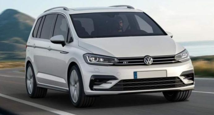 2020 Volkswagen Touran Exterior