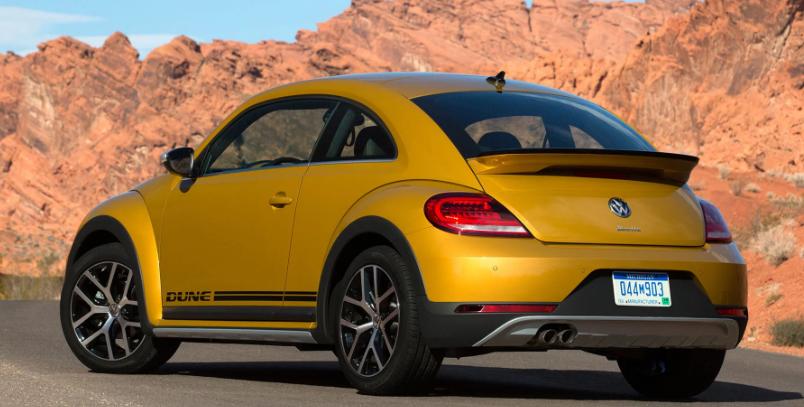 2021 Volkswagen Beetle Dune Exterior