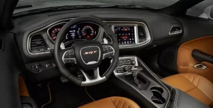 2019 Dodge Barracuda SRT Interior