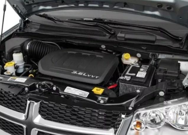 2019 Dodge Caravan Engine