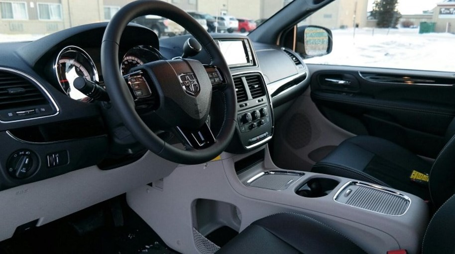 2019 Dodge Caravan Interior