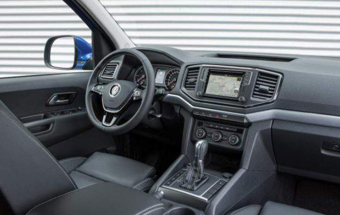 2019 VW Amarok Interior