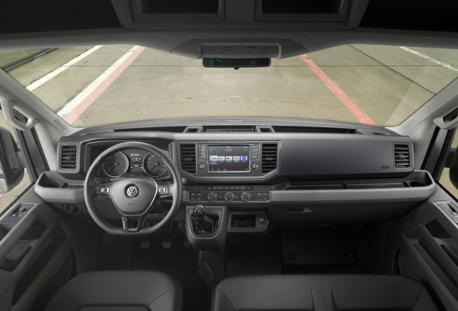 2019 VW Crafter Interior