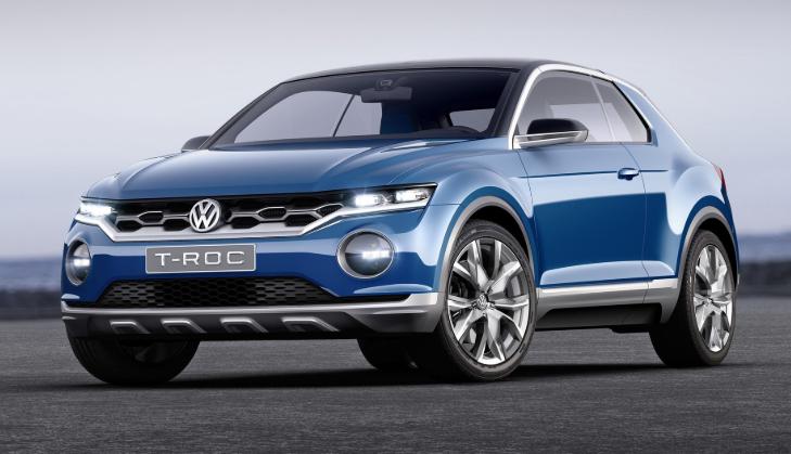 2019 VW T-Roc Exterior
