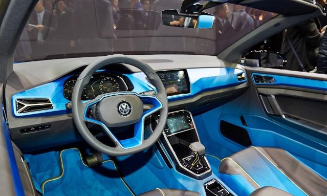 2019 VW T-Roc Interior