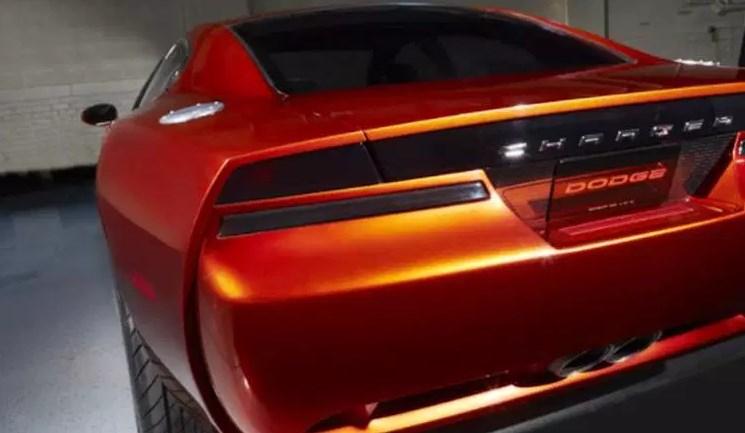 2020 Dodge Challenger Concept Engine