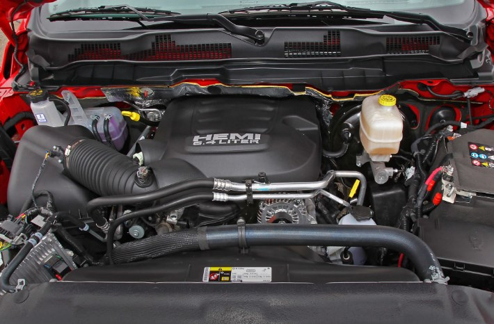 2020 Dodge Power Wagon Engine