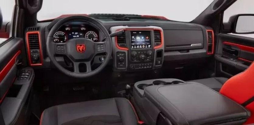 2020 Dodge Power Wagon Interior