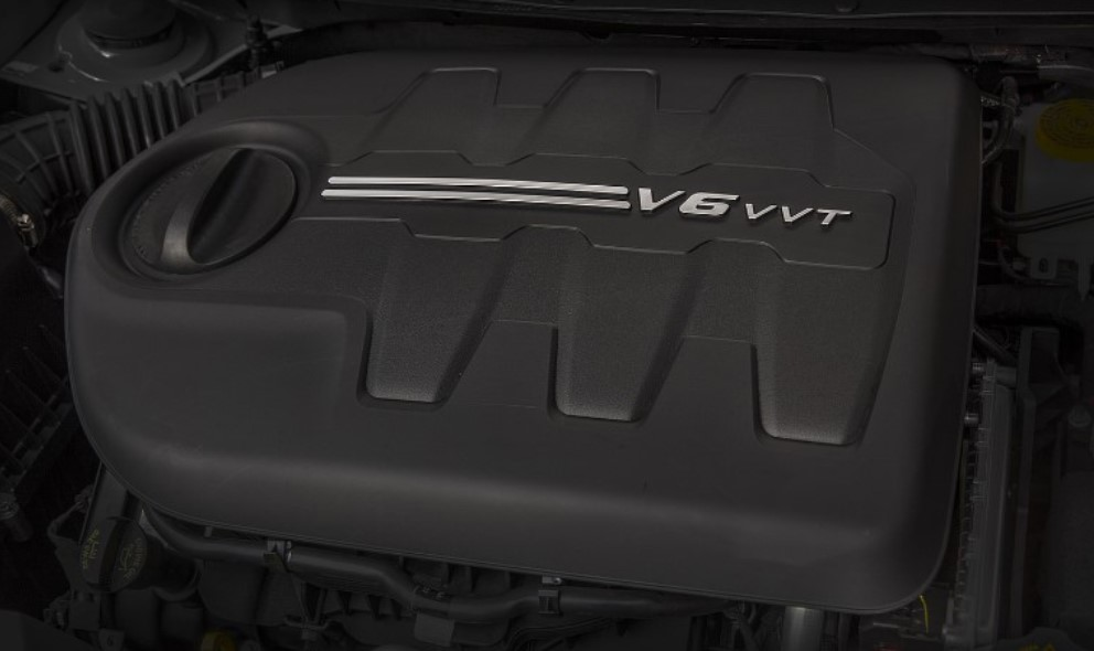 2020 Jeep Cherokee Engine
