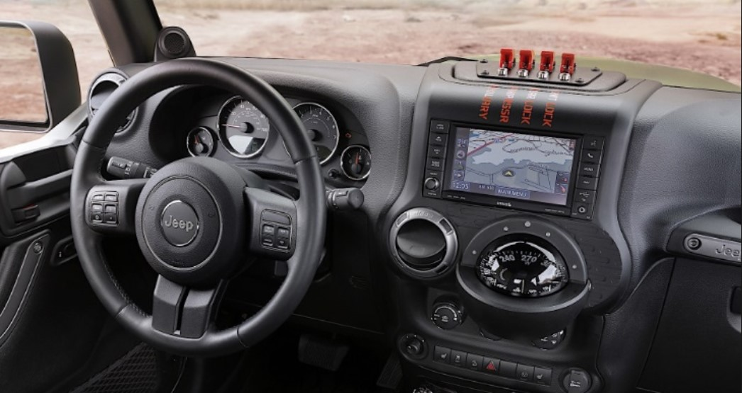 2020 Jeep Wrangler Pickup Interior