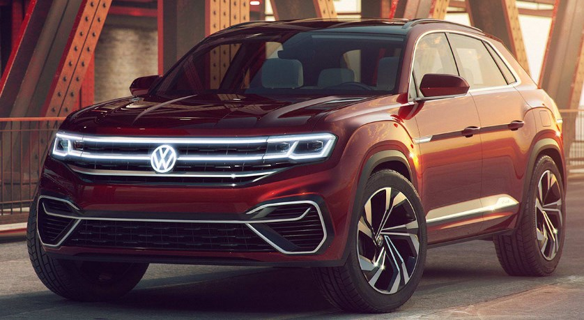 2020 VW Atlas Sport Exterior