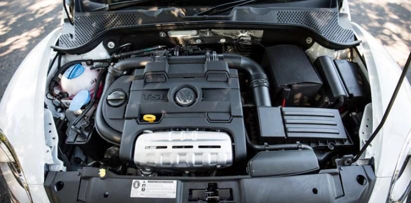 2020 VW Beetle Engine