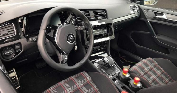 2020 VW GTI Interior