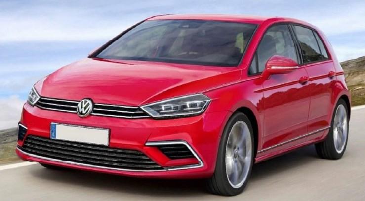2020 VW Golf 8 Exterior