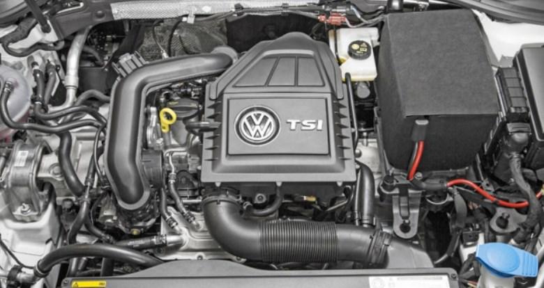 2020 VW Golf Engine