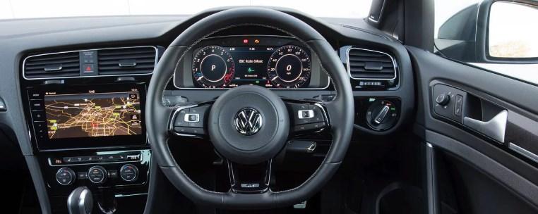 2020 VW Golf R Interior